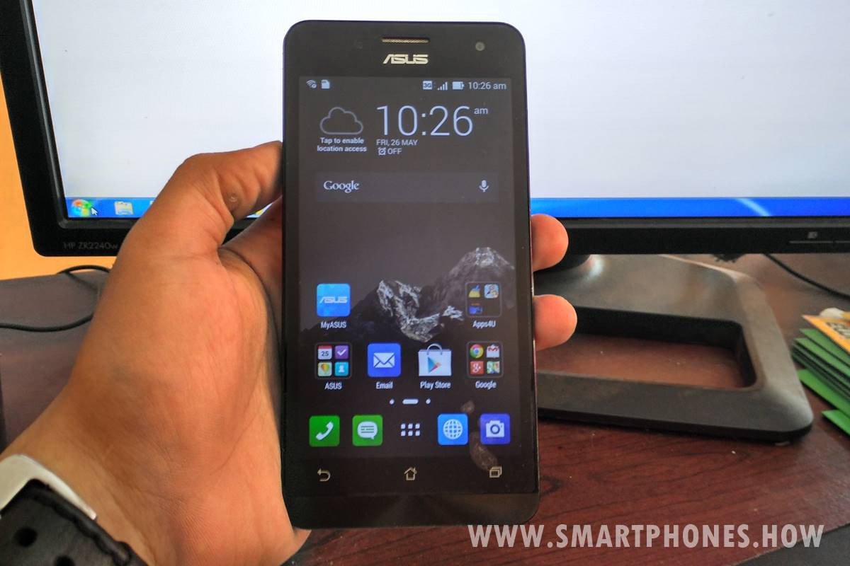 How to Update Firmware (Flash) Asus Zenfone 5 T00F A500CG